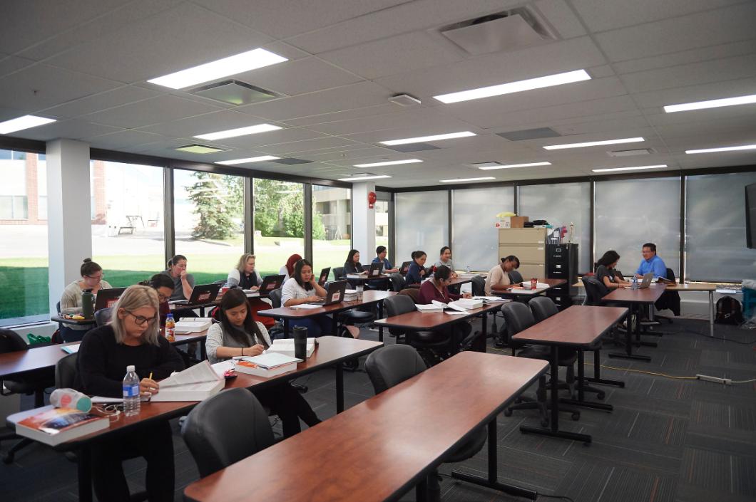 Robertson College Calgary Campus Classroom